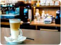 Новое кафе в головном офисе Белгазпромбанка